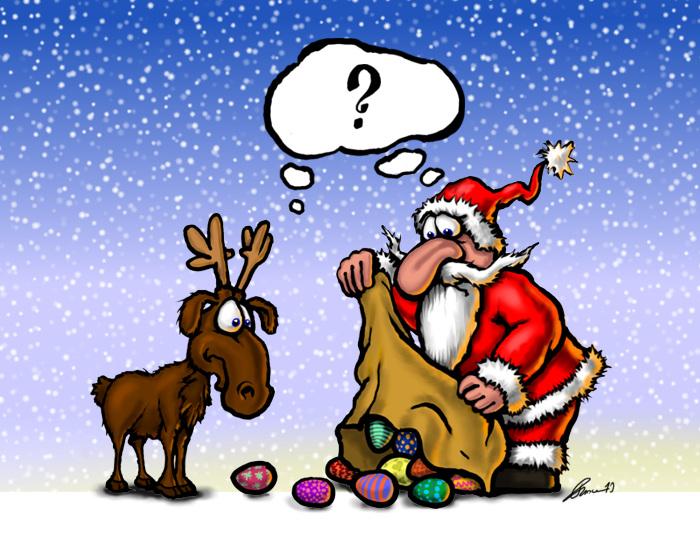 Comic Frohe Weihnachten.Weihnachts Comic